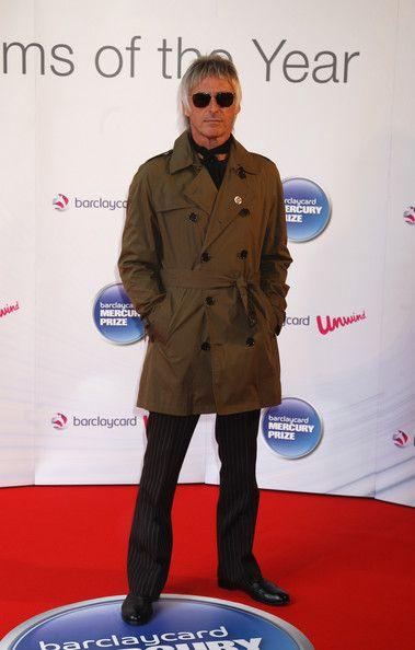 Paul Weller - Barclaycard Mercury Prize - Arrivals