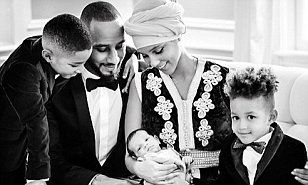 Alicia Keys shares first pictures of newborn son Genesis #DailyMail