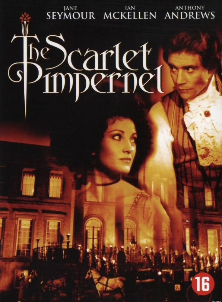The Scarlet Pimpernel, Jane Seymour, Anthony Andrews.  Love this pairing, adore the movie...swoon!