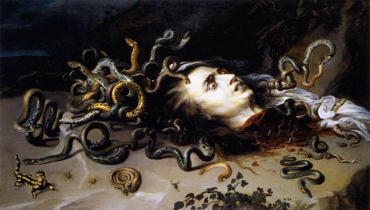 Peter Paulus Rubens - Cabeza de Medusa, 1618                                                                                                                                                                                 Más