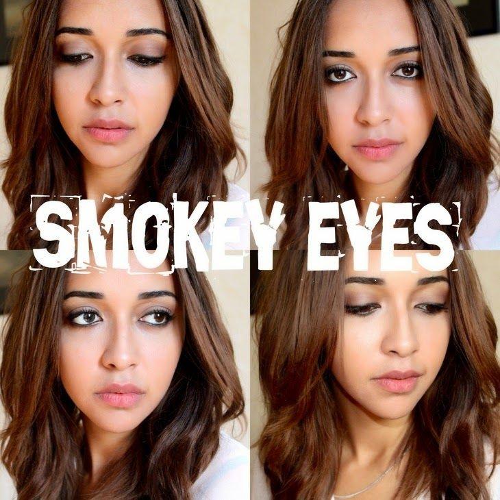 Mademoiselle Perrier: SMOKEY EYES