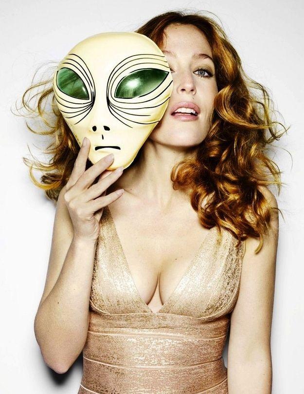 44 Gründe, Gillian Anderson ist ehrfürchtig