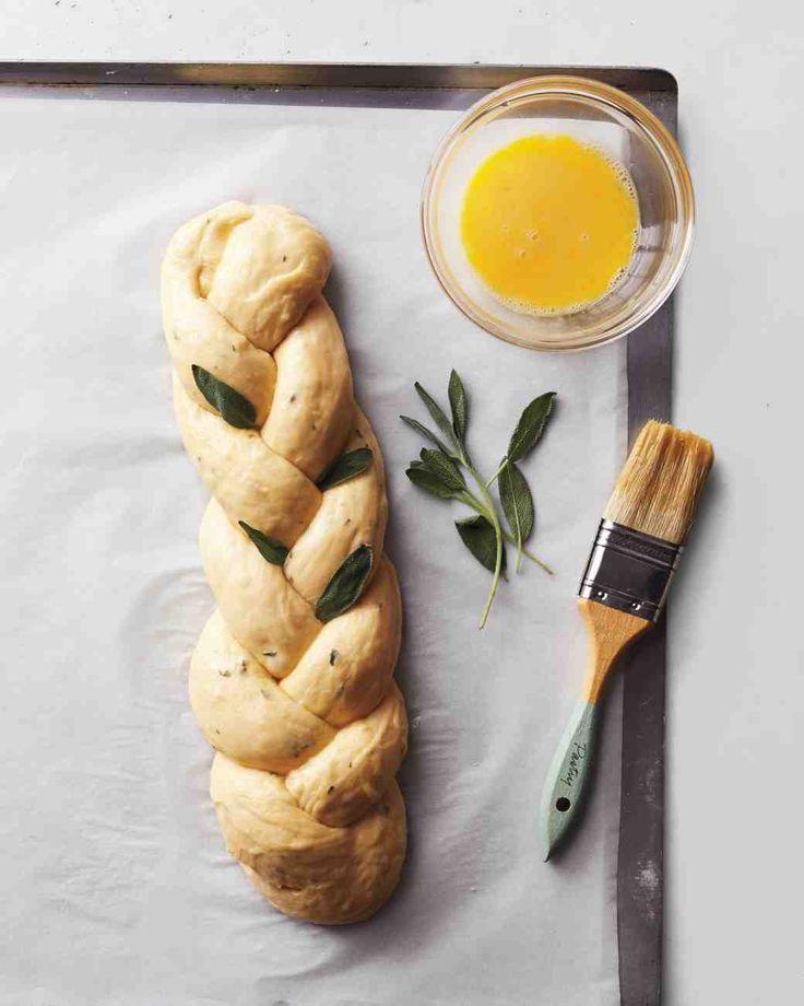 Gevlochten brood - #recept #marthastewart #genieten #Verstegen #inspiratie
