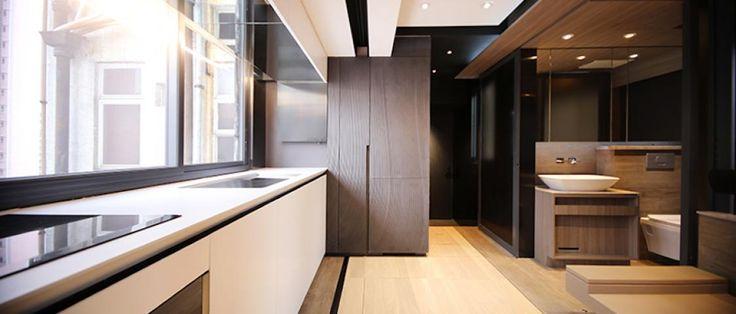 W 30-metrowym mieszkaniu zmieściła się kuchnia, siłownia i kino domowe