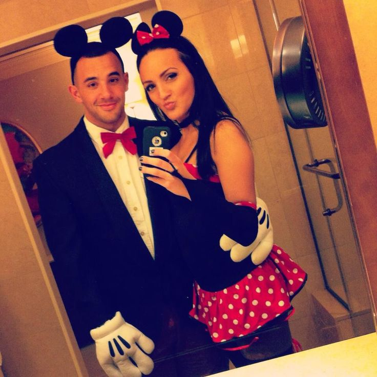 Halloween couples costumes  Minnie and Mickey with my favorite man u003c3  sc 1 st  Pinterest & 172 best Minnie Mouse Costumes images on Pinterest | Disney inspired ...