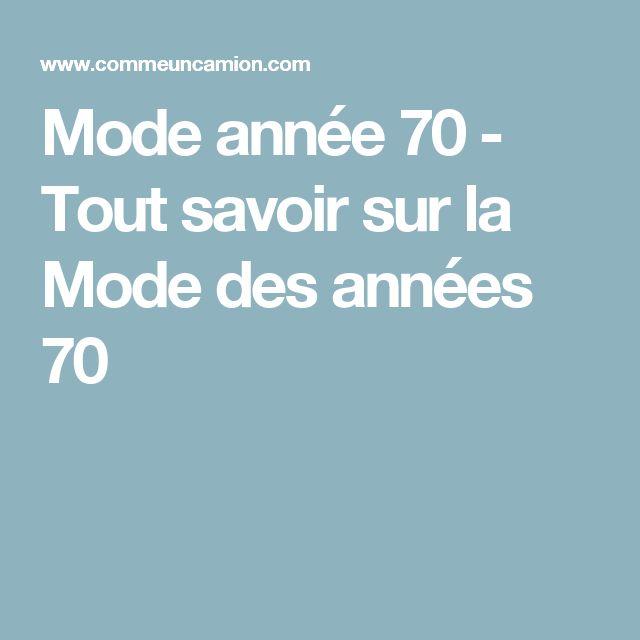 ... sur le thème Mode Année 70 sur Pinterest  Mode Robe, Mode et Talons