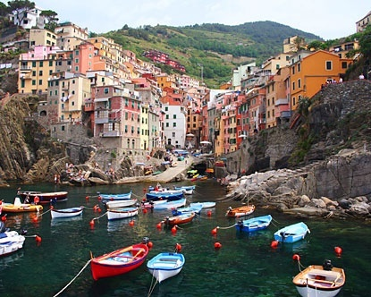Italy, Italy, Italy. Riomaggiore
