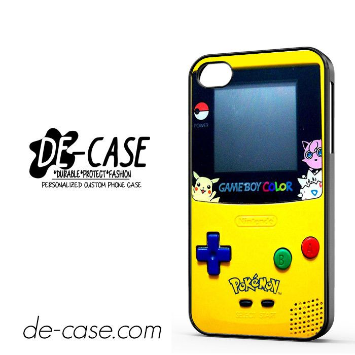Gameboy Color Pokemon DEAL-4595 Apple Phonecase Cover For Iphone 4 / Iphone 4S