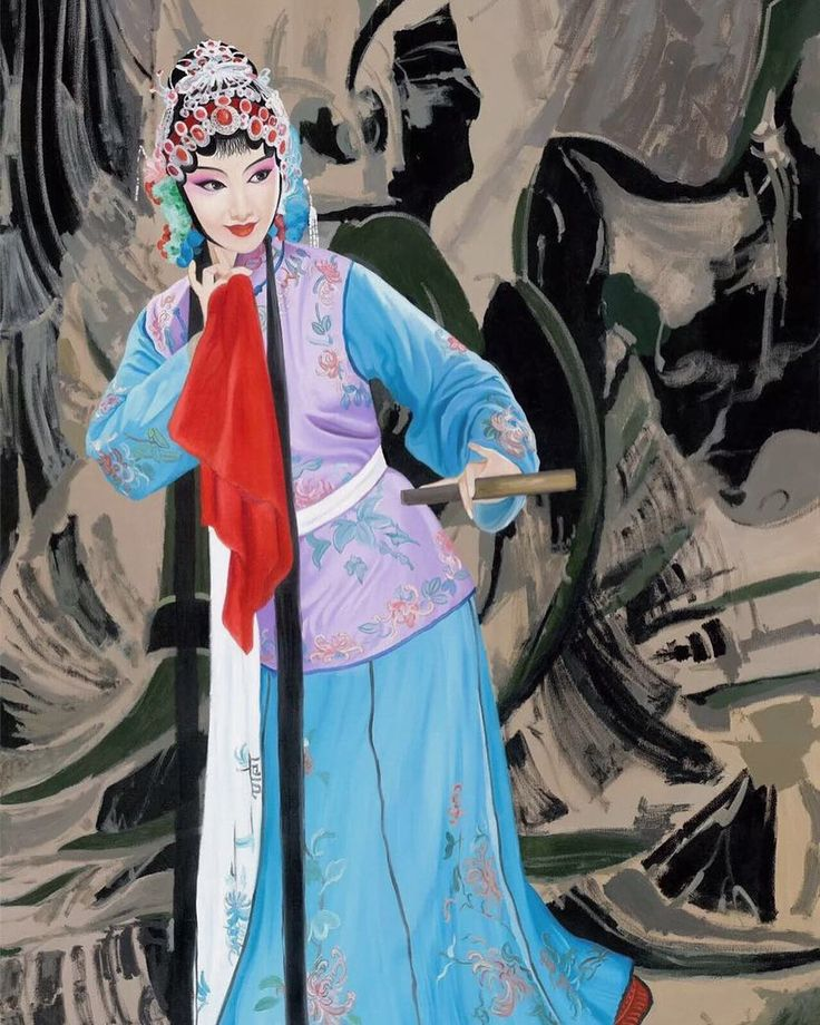 Beijing Opera oil painting 京彩系列油画#miqiaoming #oilpainting #chineseart #chineseartist #pekingopera #beijingopera #artgallery #artcollection #paintingoftheday #chineseart #chineseculture #artinvestment #artcurator #fineart #artmuseum #museumoffinearts #米巧铭#米巧銘 #美术 #中国画家 #当代艺术