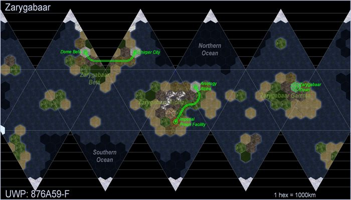 Profantasy's Map-making Journal » Blog Archive » Hex Maps with the ...