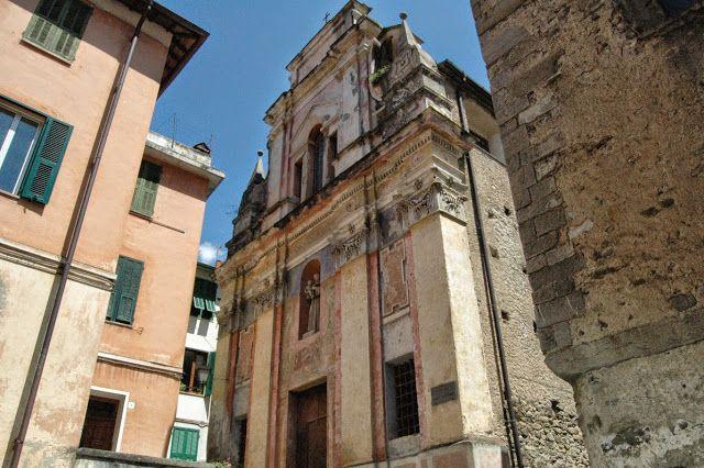 Pigna (IM), Oratorio di S. Antonio abate