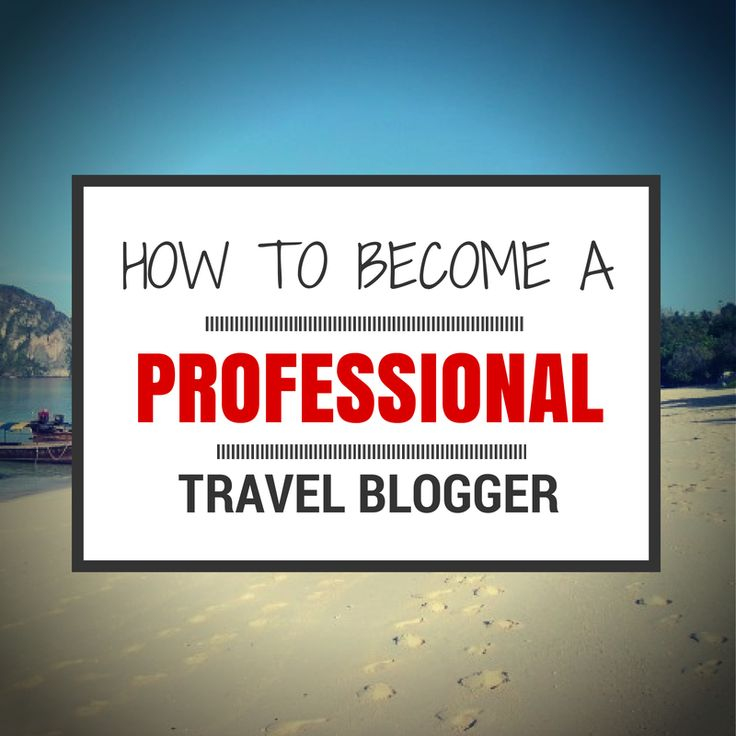 How to make money as a professional travel blogger and tips for making your blog look professional. The steps you need to take to become a paid travel blogger.