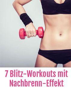 Kurzes Training: Workout wie der Blitz! 7 Trainings-Methoden mit