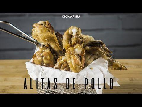 Alitas de Pollo al Horno sin Aceite - Recetas de Cocina Casera - Recetas fáciles y sencillas