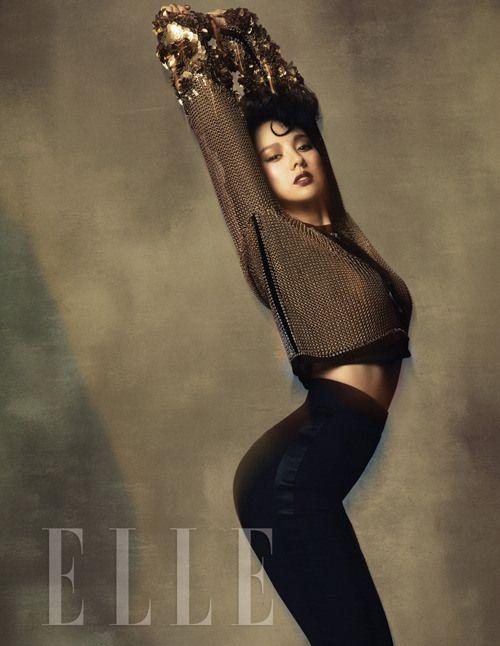 Lee Hyori // Elle Korea