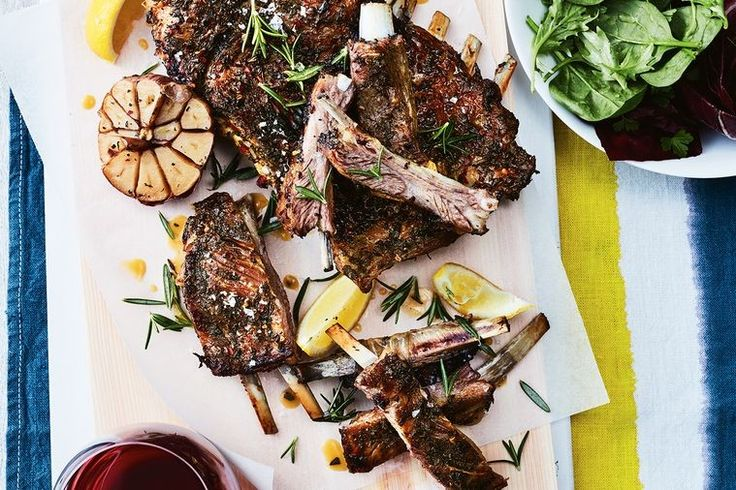 Slow roasted until the meat is falling off the bone, these lamb ribs are tender and packed full of flavour. If 1.5kg seems like an obscene quantity for only four people, keep in mind that once they're cooked, they will shrink considerably.