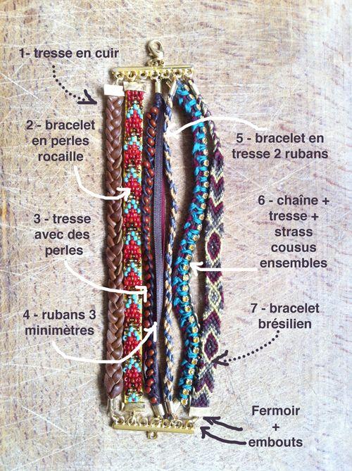 Multiple bracelets easy to put on.