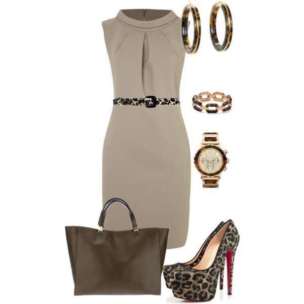 Love the classy combination