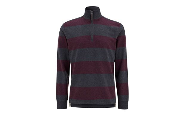 """Simple Striped Jumper. """"This simple striped jumper is perfect for throwing on when the weather starts to cool."""""""