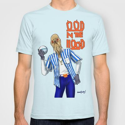 Ood In The Hood T-shirt by Franky Plata - $22.00 (Dr. Who character)