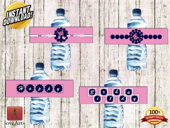 Hey, I found this really awesome Etsy listing at https://www.etsy.com/listing/242134876/water-bottle-labels-butterfly-labels