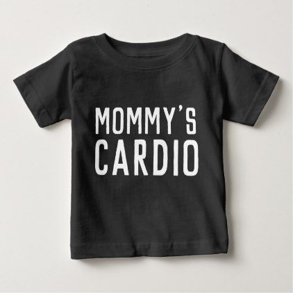 Mom's Mommy's Cardio Funny Toddler Kids Shirt Top - toddler youngster infant child kid gift idea design diy