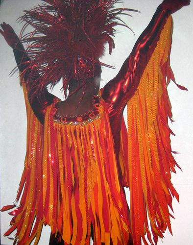 Yes, I have to make a phoenix costume.    Phoenix costume by Marquis DeSign, headpiece by Cyon by marquismark, via Flickr
