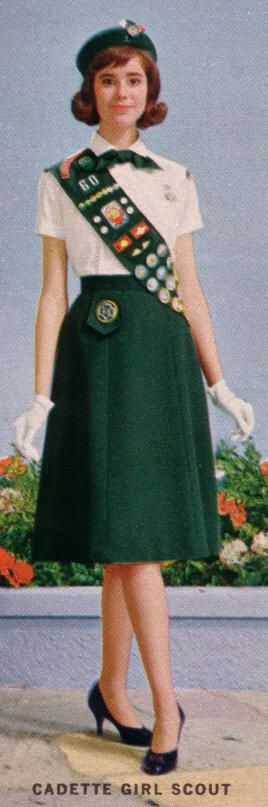 Cadette Girl Scout uniform