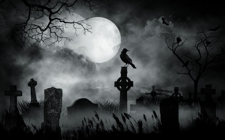 In fact, cemeteries mean something to almost everyone, which is why they're often featured in popular artwork. Description from blog.psprint.com. I searched for this on bing.com/images