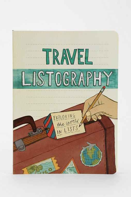 Listography Travel Journal - waaaaaant. $17: