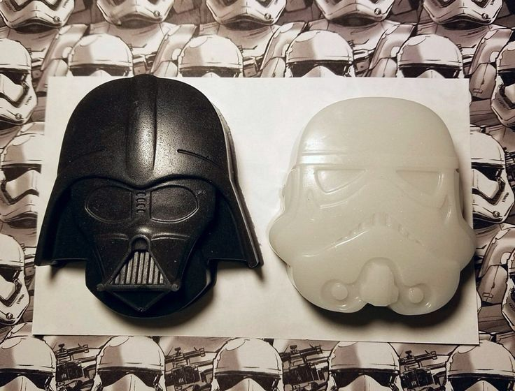 Star Wars Darth Large Vader Stormtrooper Inspired Soap - Valentines Day gift, Nerdy Gift, Gift for Him by ArrunielSoapworks on Etsy