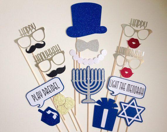 Hanukkah Photo Booth Props . Happy Hanukkah Photo by ThePropMarket