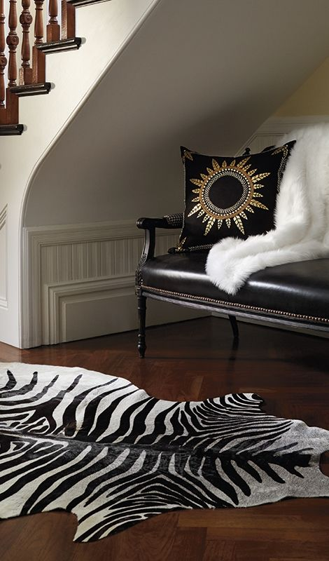 52 Best Images About Cow Hide On Pinterest Ottomans