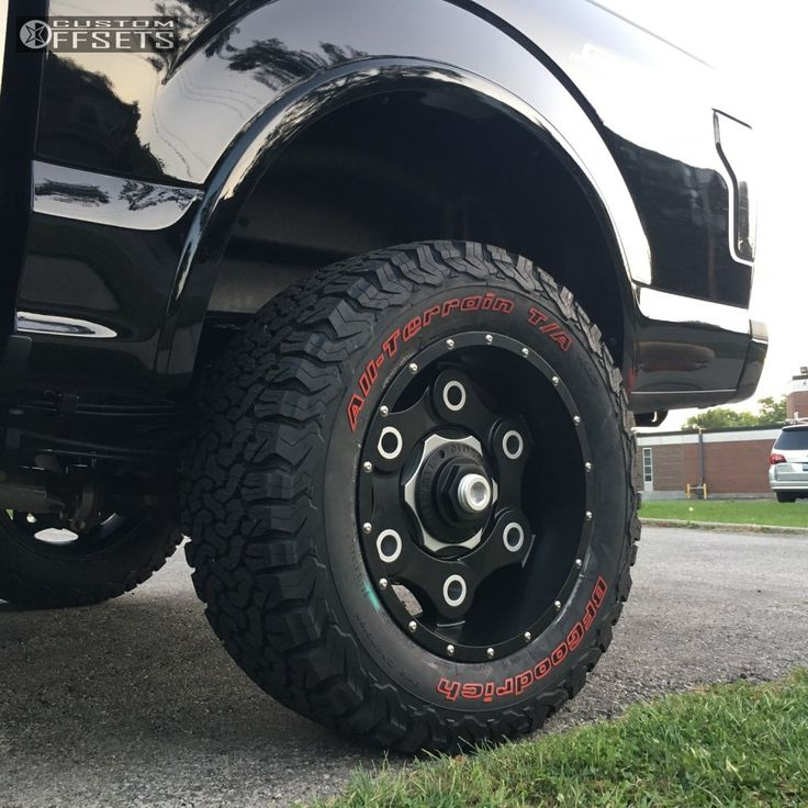 10 2017 F 150 Ford Pro Comp Suspension Lift 6in Moto Metal Mo977 Black