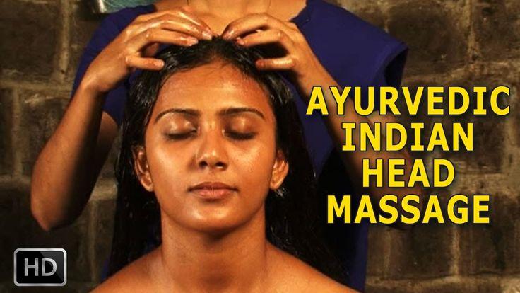 Ayurvédica e Umectação Indiana (A verdadeira umectação capilar) /Ayurvedic Indian Head Massage Massagem