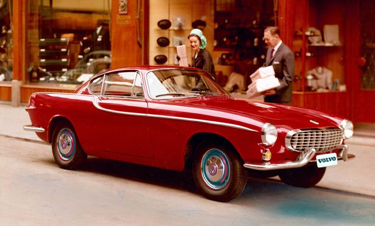Volvo 1800. A beauty!