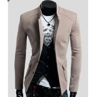 Buy 'CRYX – Stand-Collar Buttoned Jacket' with Free Shipping at YesStyle.ca. Browse and shop for thousands of Asian fashion items from China and more!