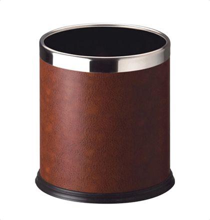 Bathla 20lts cane Leather Wastebins For More Details: http://www.mrthomas.in/bathla-20lts-cane-leather-wastebins_680