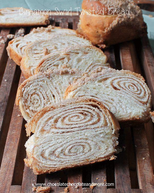 Cinnamon Swirl Twisted Bread