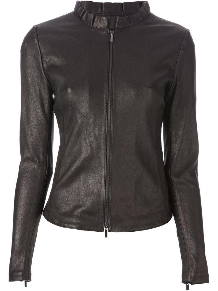 Soft leather  women jacket