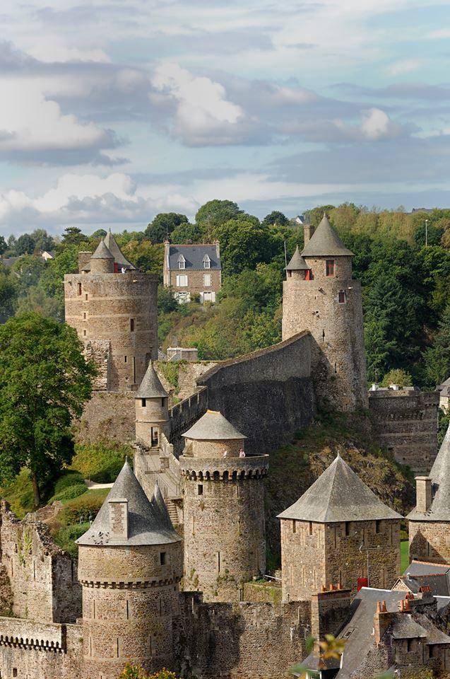Fougères , Ille et Vilaine , France
