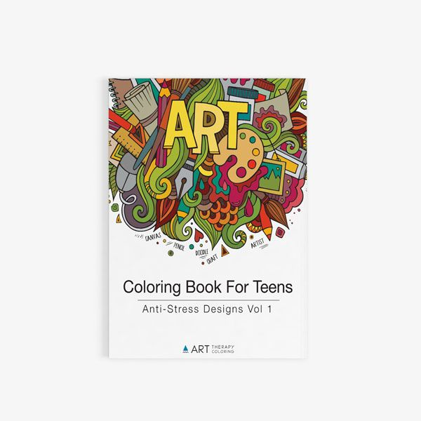 9 best Coloring Books For Teens images on Pinterest | Art therapy ...