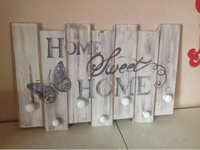 Attaccapanni in stile shabby chic