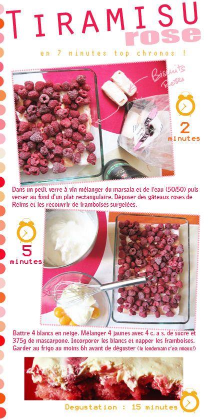 Tambouille» Tiramisu rose