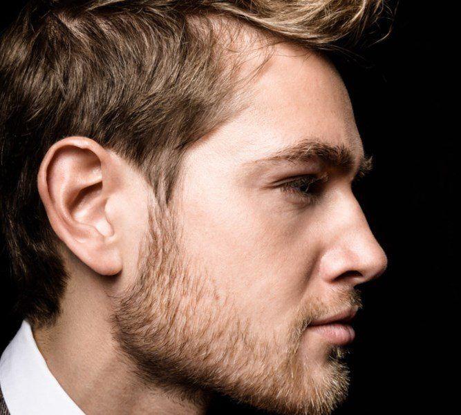 Blonde dunne haare frisur manner