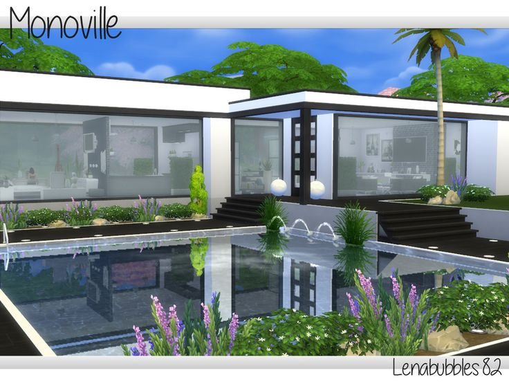 modern sims story plans nice houses person single couple lenabubbles82 simple thesimsresource open tsr lots homes sims4 residential planned throughout