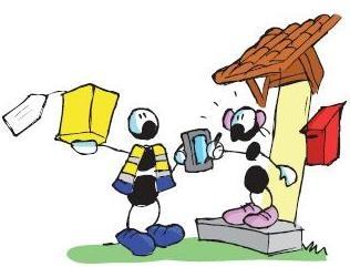 Le formiche del celebre disegnatore trentino Fabio Vettori sono protagoniste del catalogo Posteshop,  Info e catalogo su www.posteshop.it/