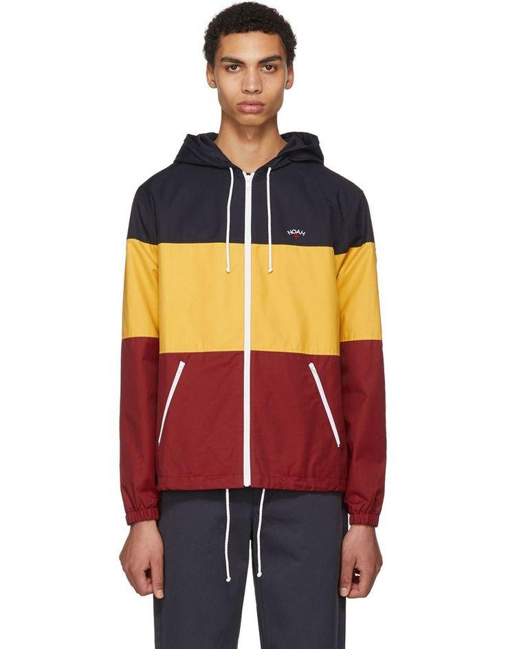 NOAH NYC Multicolor Colorblock Windcheater Jacket · VERGLE
