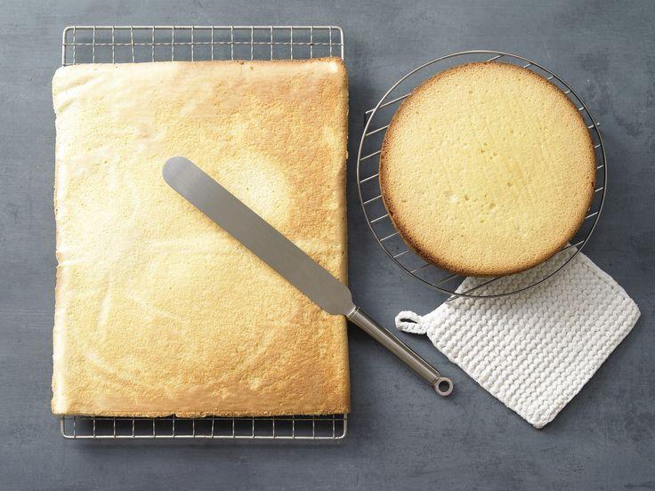 Biskuitteig mit Dinkelmehl - (Grundrezept) - smarter - Kalorien: 60 Kcal - Zeit: 30 Min.   eatsmarter.de Biskuitteig ist die Grundlage für viele leckere Torten.