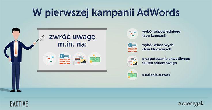 Na co trzeba zwrócić uwagę w pierwszej kampanii AdWords?